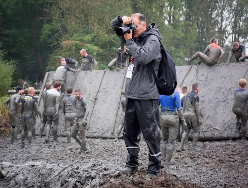 Bastiaan Heus in actie als sportfotograaf
